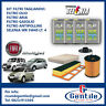 Set 4 Filtres Entretien Fiat Idea 1.3 Multijet F.Essence UFI Selenia Wr 5W40 4L