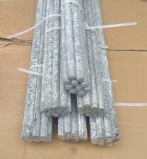 15 Stück Alu Rundstab ca. 1,0 m Länge, Ø16mm Aluminium Rundmaterial Stab Stange