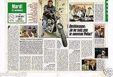 Coupure de presse Clipping 1988 (2 pages) Christophe Dechavanne