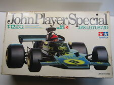Tamiya 1:12 Vintage Big Scale John Player Special Lotus 72D Ford F1 - Used Box