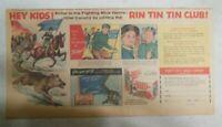 "Nabisco Cereal Ad: ""Rin Tin Tin Club"" Premium Shredded Wheat 1953 Size: 7.5 x 15"
