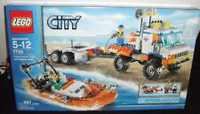 LEGO CITY #7726 COAST GUARD TRUCK w/ SPEED BOAT SET 361pc NEW 2008 UNOPENED BOX