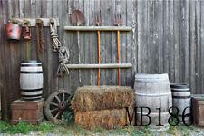 Farm Barn Tools Barnyard Vinyl Photography Backdrops Photo Backgrounds 7X5FT