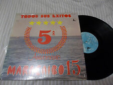 LATIN LP: MARACAIBO 15 5TH ANIVERSARIO TODOS SUS EXITOS IMPORT LP LOOK