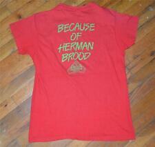 RaRe *1979 HERMAN BROOD* vintage rock concert tour shirt (L) 70s Ariola Records