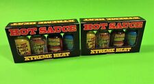 XTREME HEAT HOT SAUCE MINI BOTTLE 4 PACK, 2 PACKS - CONTAINS CAPSICUM EXTRACT