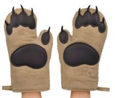Bear Paw Oven Mitts (Set of 2)