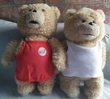 "Ted 2 Talking Plush x 2, 12"""
