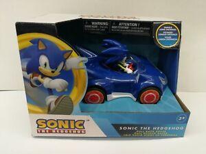 Sega Sonic the Hedgehog Movie Racing Pull Back Speed Racer For Kid Licensed New