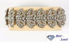 Natürliche Echtschmuck-Armbänder aus Sterlingsilber für Damen