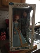 Disney Store Brave Merida and Queen Elinor Doll Set  Limited Edition Collectible