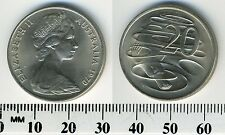 Australia 1970 - 20 Cents Copper-Nickel Coin - Platypus - Queen Elizabeth II -#1