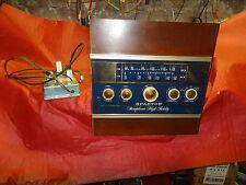 VINTAGE  TUBE STEREO RECEIVER RADIO + FMX ADAPTER , SPARTON 10M5