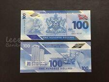 """TRINIDAD & TOBAGO - 2019  100 Dollars """" Polymer """"    UNC"""