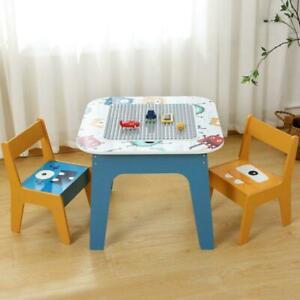 Kindersitzgruppe Kindertisch Mit 2 Stühlen Kindersitzgarnitur Play Tisch DHL
