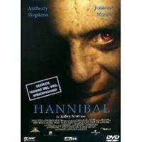 HANNIBAL (FSK 16) DVD HORROR SIR ANTHONY HOPKINS NEU