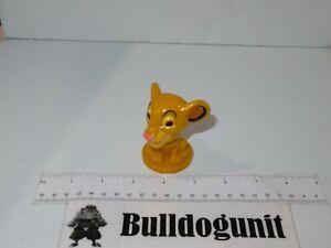 2003 Disney The Lion King Simba Kelloggs Cereal Toy Mini Bobblehead