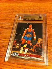 1998 Bandai Curt Hennig Wrestling Card BGS 10 WWE WWF WCW AWA nWo Mr. Perfect Mr