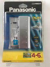 PANASONIC CGR-H601 E/1B DVD-LV60 DVD-PV40 LONG LIFE BATTERY -  NEW SEALED