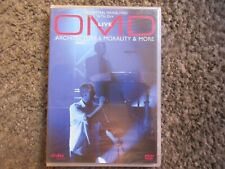 """OMD """"LIVE: ARCHITECTURE & MORALITY & MORE"""" 2008 NM CONDITION 2+HOURS OOP DVD"""