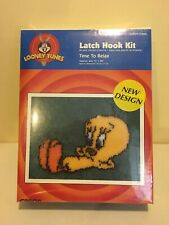 Looney Tunes Time To Relax Tweety 1997 Caron Latch Hook Kit Art Lt0040 15x20