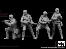 1/35 Resin Figures ~ US Navy SEALs four figure set by Black Dog