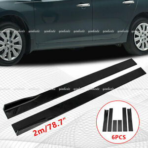 78.7'' Side Skirts Panel Extension 2M For Lexus IS200T IS250 IS350 GS350 GS450H