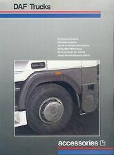 DAF Trucks Anbausatz Fahrerhaus Prospekt NL 1987 brochure Lkw Lastwagen Holland