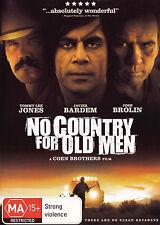 NO COUNTRY FOR OLD MEN Tommy Lee Jones / Javier Bardem DVD R4 - PAL