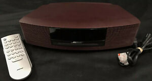 BOSE Wave Music System Series- III Maroon/Red Color CD /AM/FM With Remote