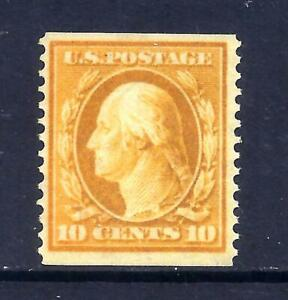 US Stamps - #366 - MNH  - 10 cent Washington Coil Issue  - CV $8000  - RARE
