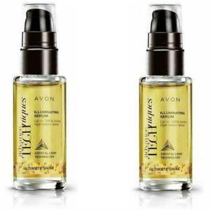 Avon Ultimate Shine Illuminating Hair Serum - 30ml pack of 2