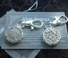 63rd Birthday Gift 1954 Lucky Silver Sixpence Coin Key Ring Charm