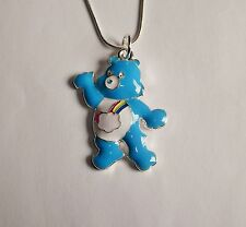 Care Bear Bashful Coeur Ours Grand Charme Collier