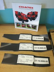 """GENUINE COUNTAX 36"""" HGM DECK BLADE SET FREE DELIVERY"""