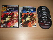Warhammer 40000 dawn of war game of the year pc cd rom war hammer goty rapide post