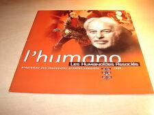 BOUCQ - J FOREST - JODOROWSKY - PROGRAMME  HUMANO 1ER SEMESTRE 1999!!!!!!!!!!!!