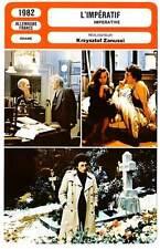 FICHE CINEMA : L'IMPERATIF - Powell,Fossey,Zanussi 1982 Imperative