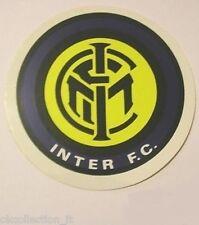ADESIVO ORIGINALE anni '80 _ INTER F.C. Calcio (cm 9) Old Sticker Vintage