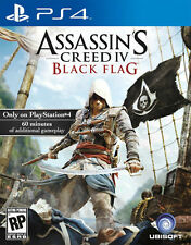 Assassin's Creed IV: Black Flag (Sony PlayStation 4, 2013) FREE SHIPPING!