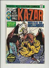 Ka-Zar Lord of the Jungle  #15 NM-