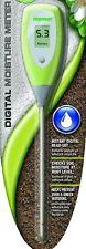 LUSTER LEAF RAPITEST 1825 Soil Plant Garden DIGITAL Moisture Sensor Meter Tester