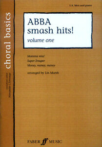 ABBA 3 Smash Hits Volume 1 Noten für Chor SAB/SAT/PF