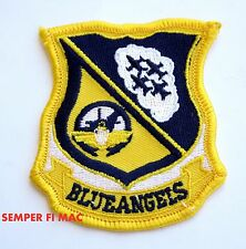 US NAVY BLUE ANGELS COLLECTOR PATCH NAS PENSACOLA F-18 HORNET NAVY FLY FOREVER