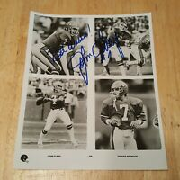 John Elway Hand Signed Autographed 8x10 Photo Denver Broncos HOF NFL See Descrip