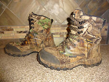 Mens Irish Setter Camo Hunting Boots Sz 8E2/40 #3858 Waterproof GORE-TEX
