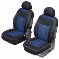 Housse siège auto avant universelle Bleu et noir