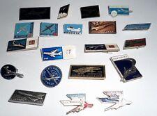 Nice Lot of Twenty Vintage Russian/Soviet Airplane Pins