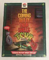 RARE VTG 1990Pizza Hut Presents Teenage Mutant Ninja Turtles Official Tour Guide