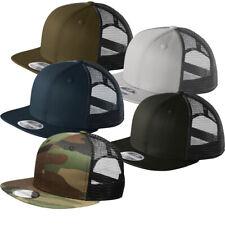 New Era Mesh Snapback Hat Original Fit Trucker Cap 9FIFTY Blank Flat Brim 950